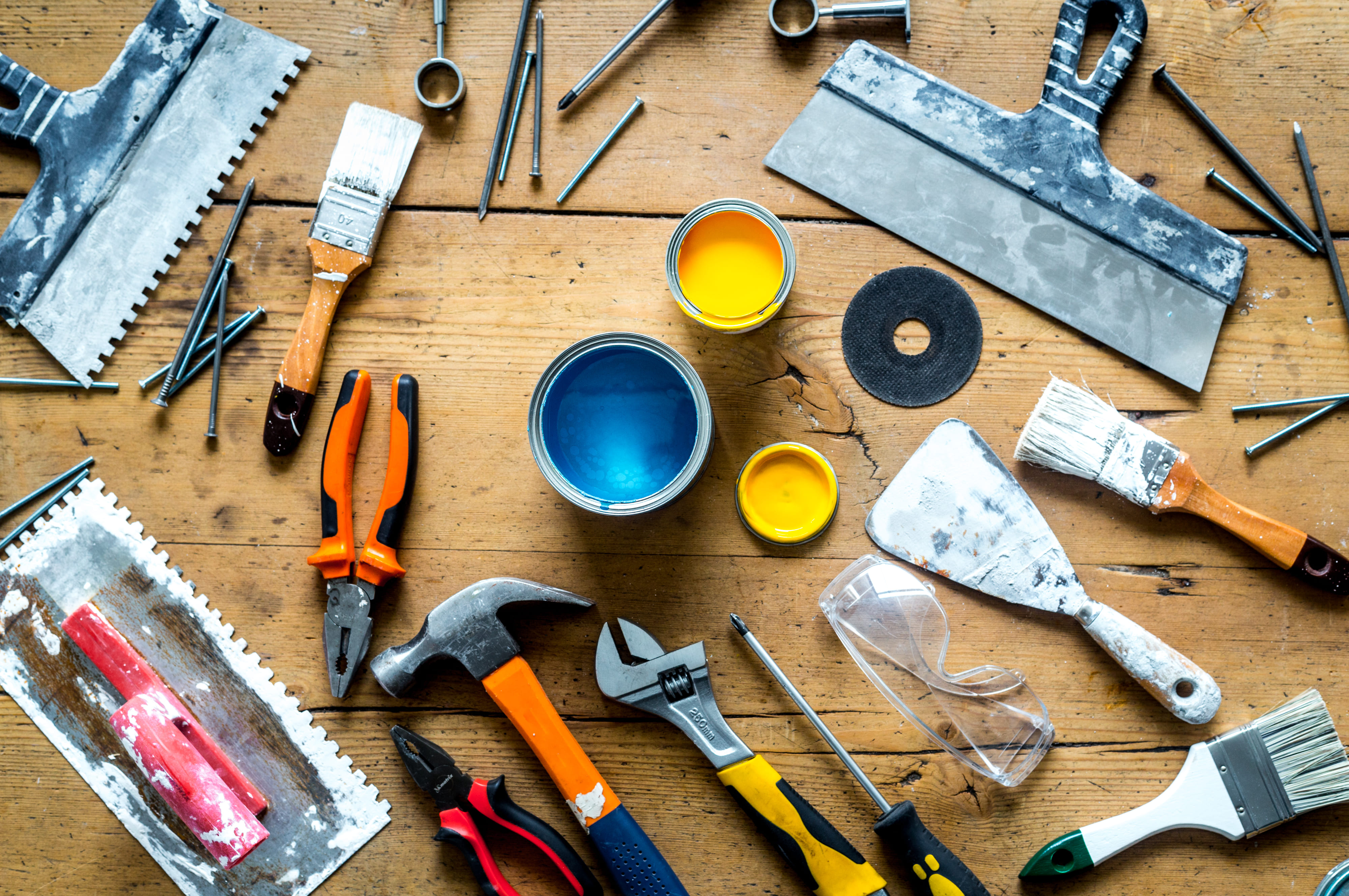 учет материалов и инструмента на складе