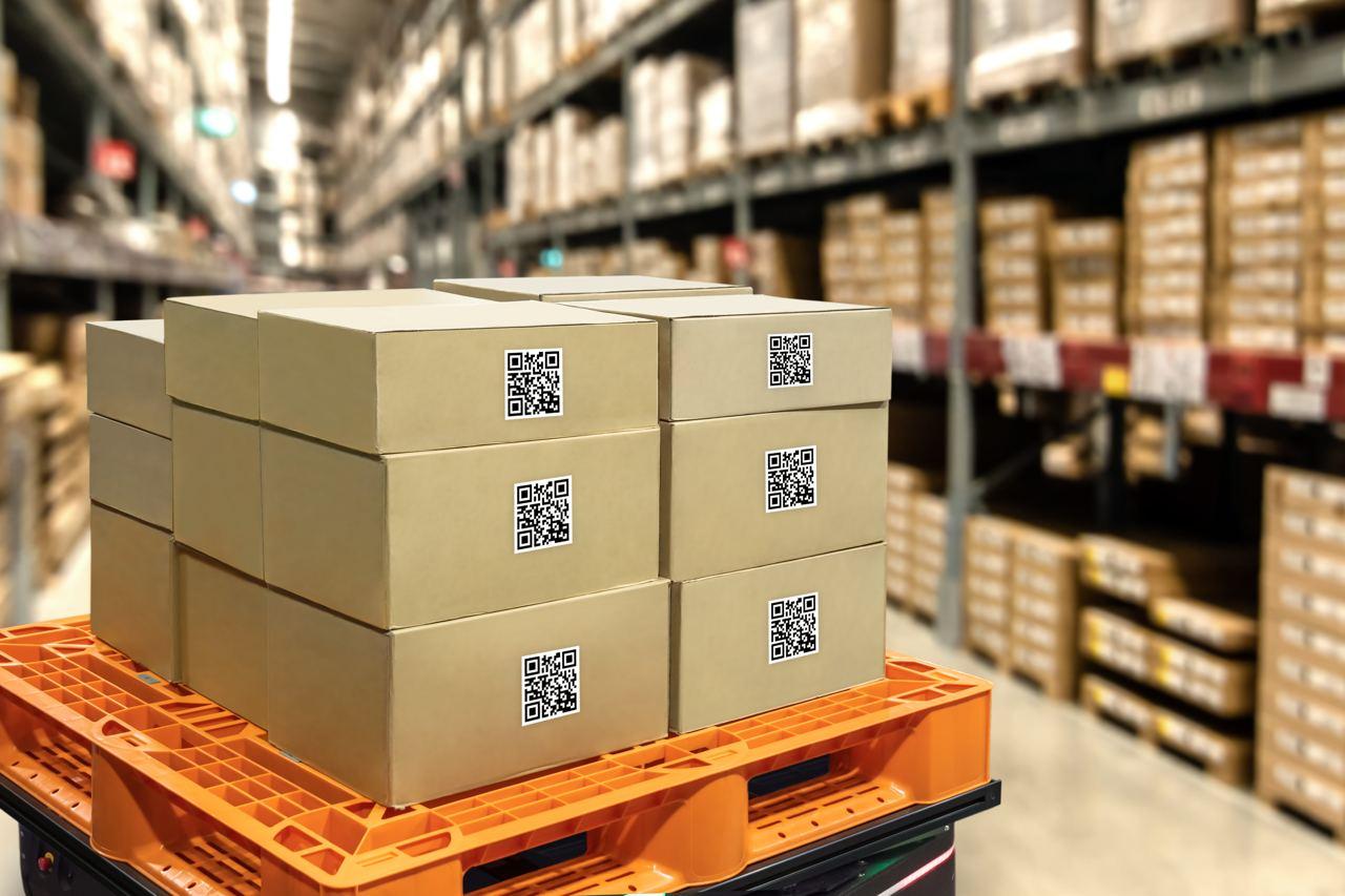 Qr коды на коробках