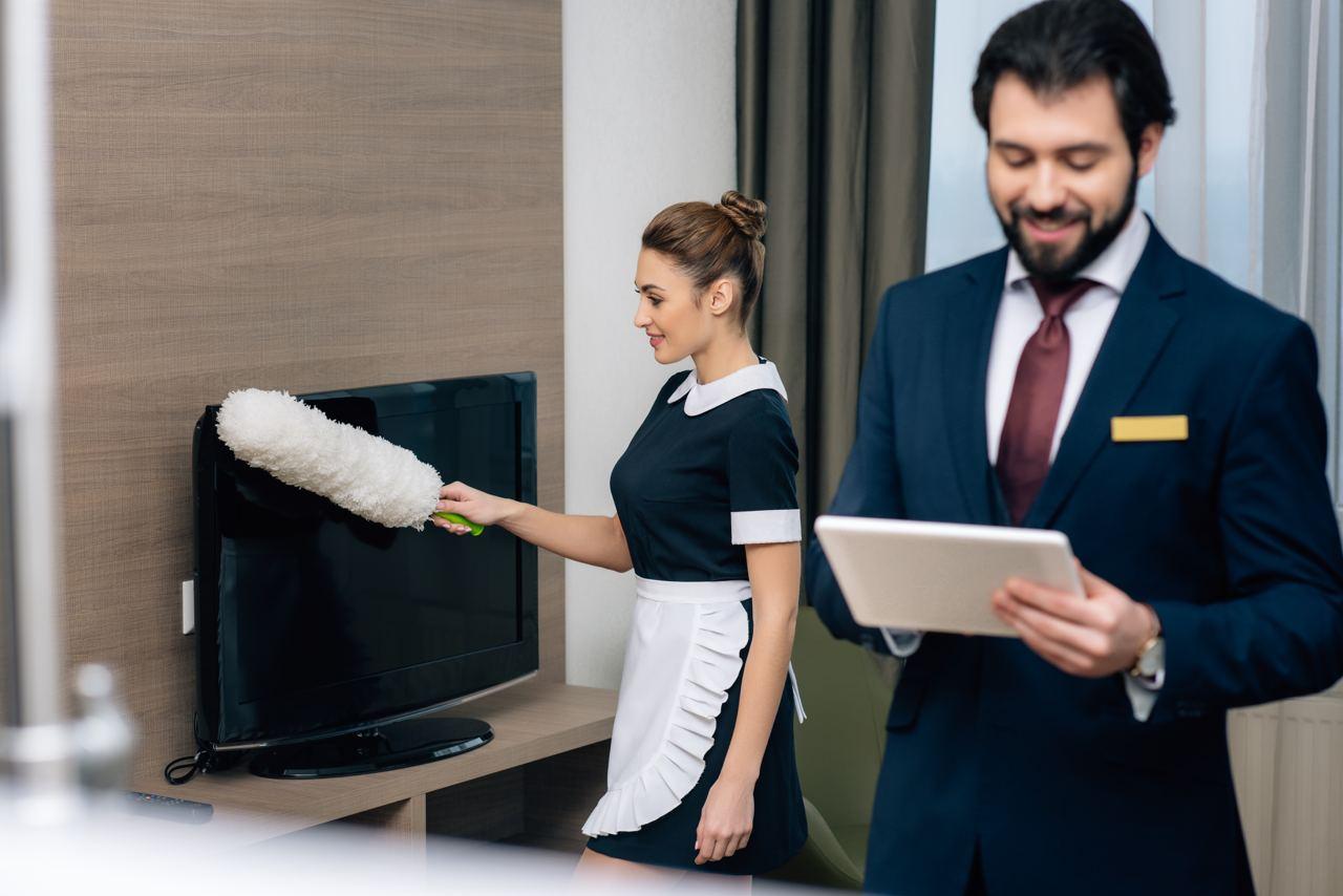 инвентаризация уборочного инвентаряв гостинице