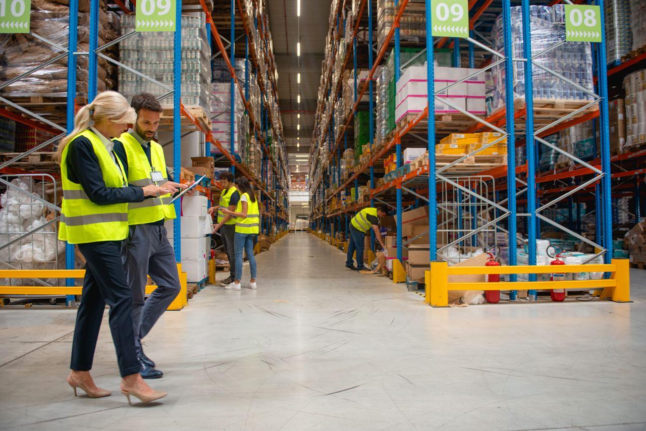 Инвентаризация в складских помещениях